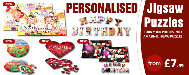 Personalised Jigsow Pazzels