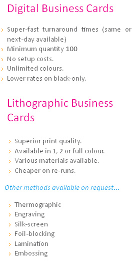 Same day 24 hour digital business cards printing london ilford when it comes to digital printing london offers a wide choice at 1stop print we can match any offer with competitive prices because our 24 hour business colourmoves Gallery